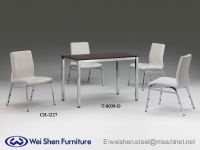 Dining table, stacking chair, Restaurant Dining furniture, Modern chair