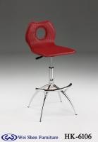 皮革吧台椅、硬皮吧椅、吧椅、编织纹PVC皮革吧台椅