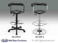 Swivel Bar stool,PVC Barstools, Gas Lift bar stool