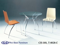 Cens.com Dining table, Dining chair, Glass table, Tube furniture, Dining furniture WEI SHEN STEEL FURNITURE CO., LTD.