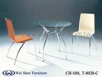 Cens.com 餐桌椅、餐椅、餐桌、玻璃桌、钢管家具、餐厅家具 韦胜钢管家具有限公司