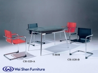 Cens.com Director Chair, Armrest Chair, Dining chair, Dining furniture, Glass table WEI SHEN STEEL FURNITURE CO., LTD.