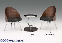 旋转餐桌椅、餐椅、餐桌、玻璃桌、茶几、钢管家具、餐厅家具
