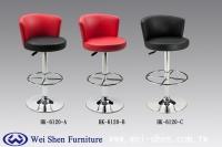 旋转吧台椅、吧台椅、吧椅家具、低背吧台椅、造型吧台椅