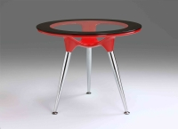 Bar furniture, High table, Steel table, Steel furniture, Dining table