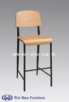 工业风高吧椅、吧台椅、高脚椅,曲木吧椅