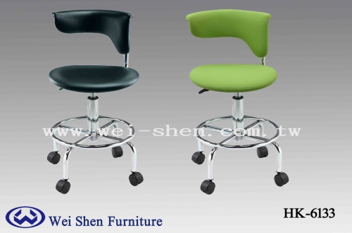 Bar stools with Casters, Modern Office Chair, Computer Chair,  Beauty Salon Furniture