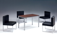餐桌椅、餐椅、餐桌、鋼管家具、餐廳家具