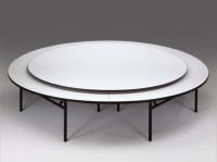 圆形餐桌、筵会桌、宴会桌、美耐板餐桌