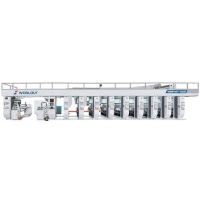 High Productivity Rotogravure Printing Machine