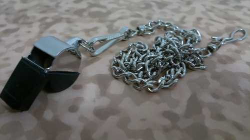 Whistle CHAIN withButton Style Hook