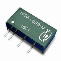 1000VDC ISOLATION SINGLE OUTPUT 1 WATT DC-DC CONVERTER