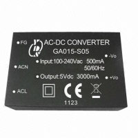 15WATT, SINGLE & DUAL OUTPUT ,AC/DC Power Module Converter
