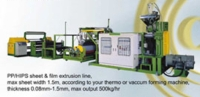 Cens.com PP/HIPS Sheet & Film Extrusion Line C.S. MACHINERY CO., LTD.