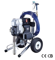 Electric piston pump airless sprayer