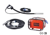 High frequency concrete vibrator system