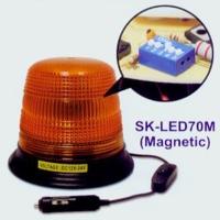 LED 5 段可调式闪烁吸铁警示灯