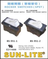 ROCKER SWITCHES ( SPST )