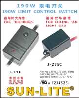 190W LIMIT CONTROL SWITCH