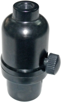 E26旋鈕全波調光開關燈座    (電木外殼)