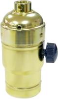 3 in 1 Dimmer Lampholder #26/Turn Knob(Metal Shell)