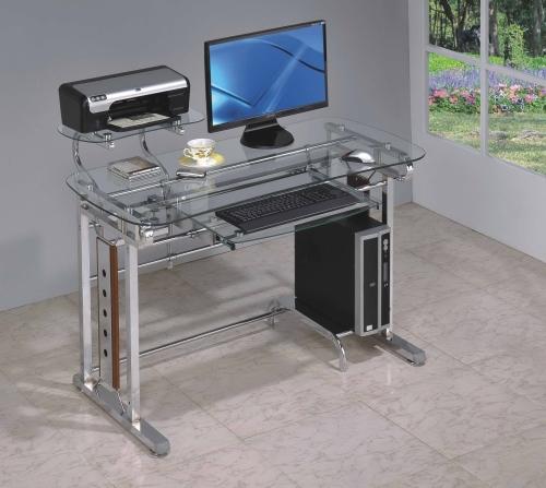 Glass Computer Desk