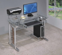 Glass Computer Desk