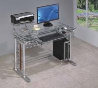 玻璃電腦桌