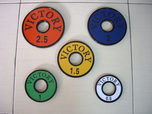 Victory Small Steel Plate