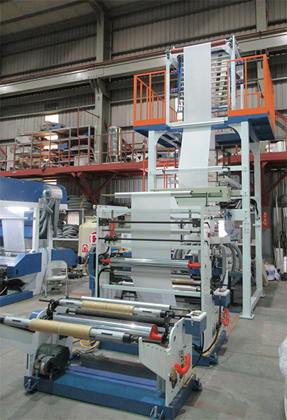 LD/LLDPE High Speed Inflation Machine