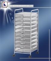 Ten Drawer Storage Rack