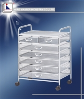 Seven Drawer Storage Rack