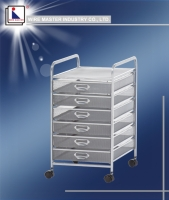 Six Drawer Storage Rack