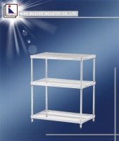 Diamond-shaped Network Shelf