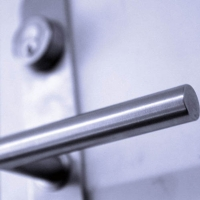 Solid Stainless Steel Lever Handle
