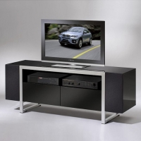 TV Stand, W/ Speaker Door.  K/D