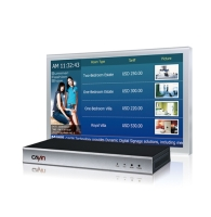 Web-based Digital Signage Media Player