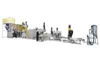 Force feeder waste recycling machines(Die face)