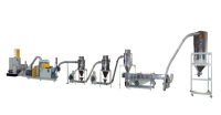Twin cone high speed pelletizing production line (air cooling type pelletizing machine)