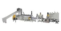 3-in-1 Plastics waste recycling machine