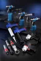 Air riveter, Air impact wrench, Air ratchet wrench, Cordless caulking gun