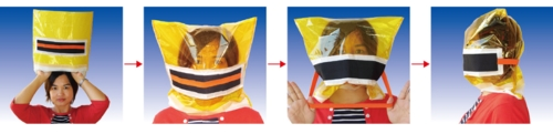 Pocket Smoke-Escaping Mask