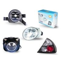 DOT/SAE Approved Headlamps, Corner Lamps, Side Indicators, Rear Lamps, Fog Lamps.