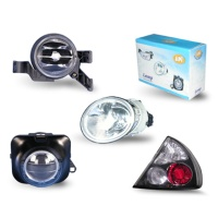 DOT/SAE Approved Headlamps, Corner Lamps, Side Indicators, Rear Lamps, Fog Lamps.