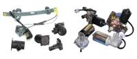 電裝品: 電動升降機、發電機、分電盤、雨刷馬達、 起動馬達、空氣流量計等等