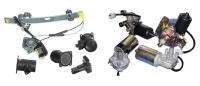 Electrical Parts :Power Regulator, Compressor, Distributor, Wiper Motor, Starter, Air Flow Meter.