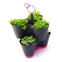 2-Tier Stylish Stackable Planters