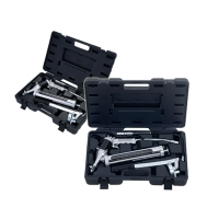 Air & Manual Free-Angle Operation Grease Gun Set