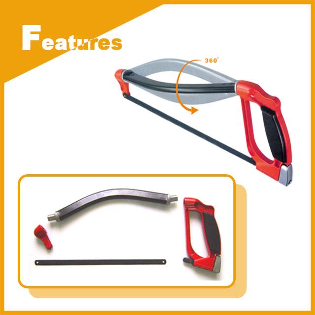 Versatile Multi-Angle Hacksaw