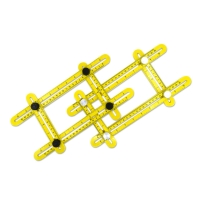 Multi-Angle Template Tool (Plastic Steel / Aluminum Screws)